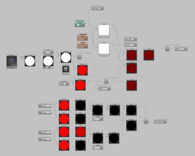 reflection coefficient nodes